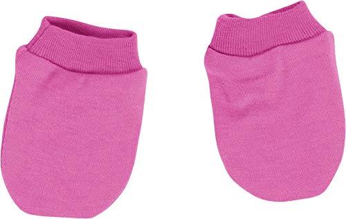Schnizler Baby-Unisex Kratzfäustlinge Fäustlinge, Rosa (pink 18), One size