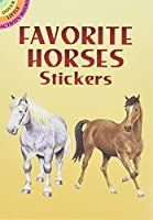 Favorite Horses Stickers (Dover Little Activity Books Stickers)