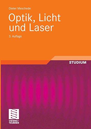 Optik, Licht und Laser