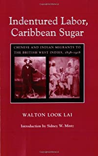 Indentured Labor, Caribbean Sugar: Chinese and Indian Migrants to the British West Indies, 1838-1918 (Johns Hopkins Studies in Atlantic History and Culture)