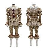 JJZXLQ ropa de Halloween payaso regreso alma Cosplay Halloween disfraz de payaso Cosplay traje de fiesta traje de etapa traje