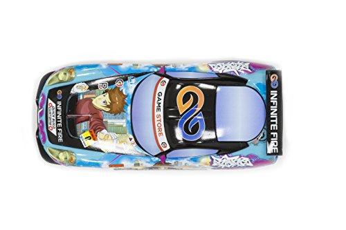 Scalextric C3838 Team GT Lightning Sunrise Anime Car