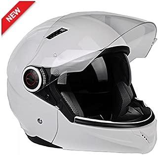 Lazer Helmets LZ0039PrWhS Full Face Helmet (White, S)