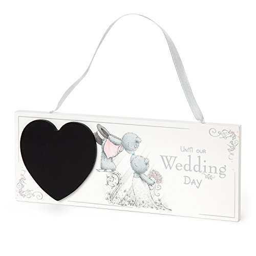 Me To You g01q6591 Wedding Day Countdown Plaque