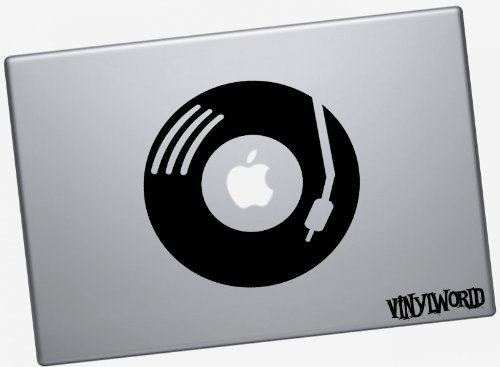 Vinyl Record Laptop Skin Sticker voor Macbook Air en Macbook Pro tot 13