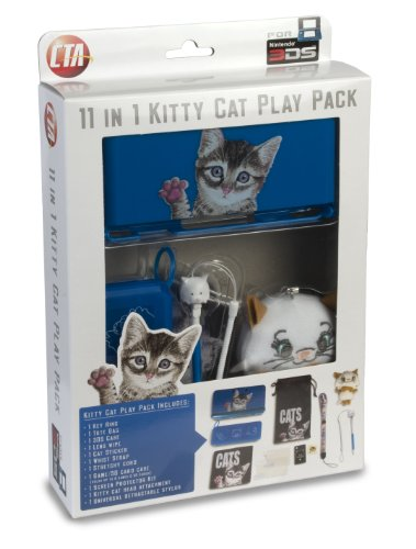 11 in 1 Kitty Cat Play Pack for Nintendo 3DS