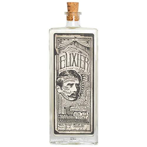 Elixier Gin - mit einzigartigen Essenzen von Waldmeister und Wacholder, perfekt kombinierbar mit Tonic- Water und Botanicals