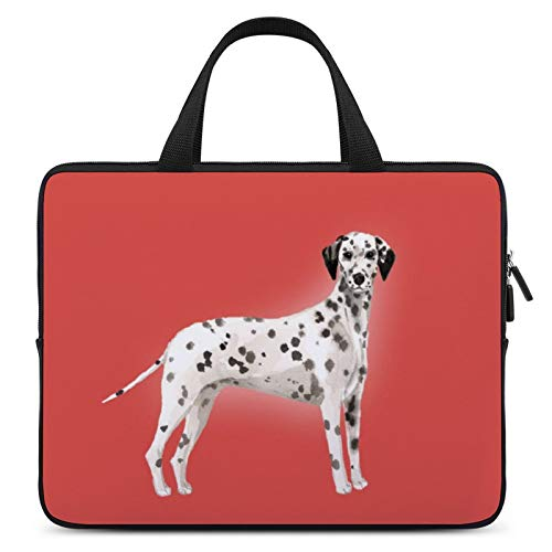 Laptop Carrying Bag,MacBook Protective Case,Notebook Computer Case,13inch,Cover for Apple/MacBook/HP/Acer/Asus/Dell/Lenovo/Samsung,Color of Dog Dalmatian Vertebrate Canidae