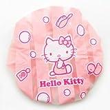 Hello Kitty Shower Cap: Stripes