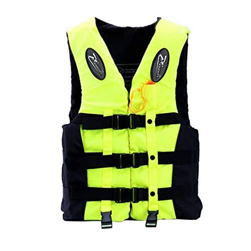 Bebliss Professionelle Schwimmweste Kinder Erwachsene Reflektierende Verstellbare Weste Jacke Mit Pfeife Zum Treiben Angeln