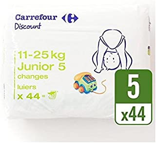 Carrefour Discount Size 5 Carry Pack 44 per pack - Pack of 2