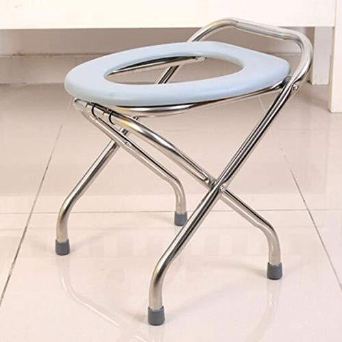 ASGDVJFGSD Vouwen zwangere vrouw Badkruk Skidproof kinderpotstoel Ouder Commode stoel