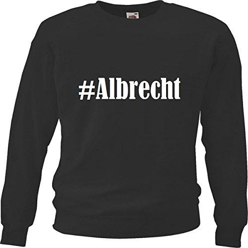 Reifen-Markt Sweatshirt Damen #Albrecht Größe S Farbe Schwarz Druck Weiss