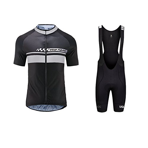 Uglyfrog Bike Jersey + Shorts Traspirante Equitazione Giacca Pantaloni DTMX01F