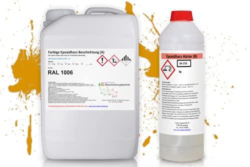 otto-online-handel Otto63 Ral1006 - Resina epoxi, color amarillo