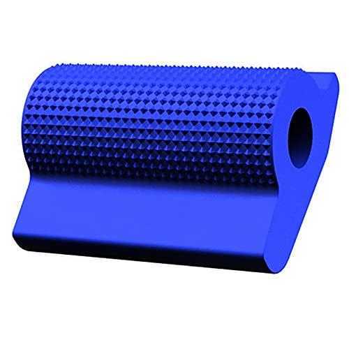 Accesorios para Motocicletas Cambio Universal Palanca de Engranajes Pedal de Goma Protector de Zapatos Pie de pie Gel de Punta de pie para Honda Kawasaki Yamaha Accesorio (Color : Blue)