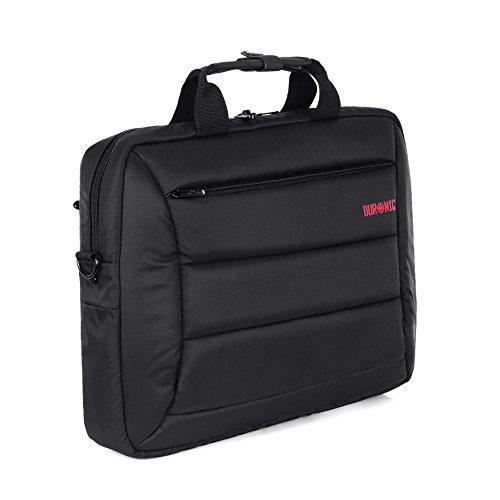 """Duronic LB12 """"Futuristic"""" Borsa Messenger a Tracolla da Viaggio per Tablet MacBook Laptop PC Portatile 15.6"""" Completamente Impermeabile"""
