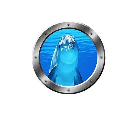 3D Art Hai Meer Hai Wandtattoo Removable Wall sticker Kinderzimmer Geschenk Waterproof Wallpaper