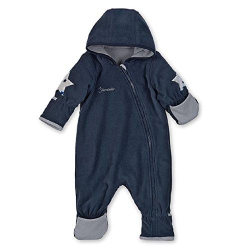Sterntaler Baby Fleece Overall Anzug marine 5501702 (62, marine)