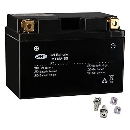 YT12A-BS JMT Gel Batterie für SFV 650 A Gladius ABS Baujahr 2009-2016