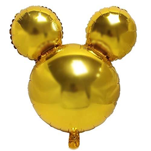 GLOBO Mouse–10colores diferentes–45cm dorado
