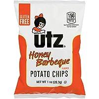 60-Count Utz Honey Barbeque Crispy Potato Chips, 1 oz