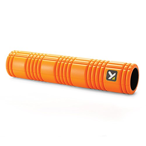 TriggerPoint GRID Foam Roller with Free Online Instructional Videos, 2.0 (26-inch), Orange
