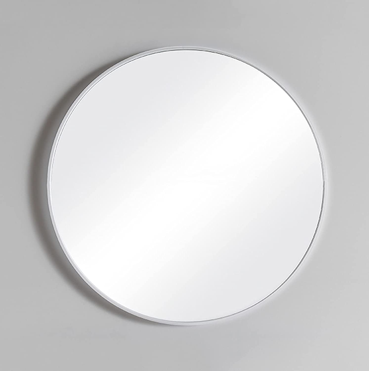 LIGUOYI 23.6in Big Metal Frame All items in the store Bathroom Wall Mirro Max 47% OFF Round Mirror