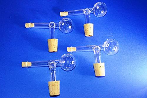 Generisch 4 Schnapsspender, Ausgießer, Portionierer 2CL aus Glas