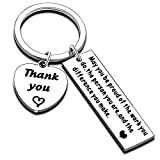 Nimteve Gifts for Coworkers Women Men Keychain Jewellery Thank You Gifts Christmas Presents for Her Him (Be Proud of The Work You do)
