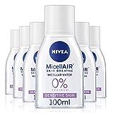 NIVEA Nivea Micellair di respirare acqua micellare struccante 3 en 1 sensible 100 ml