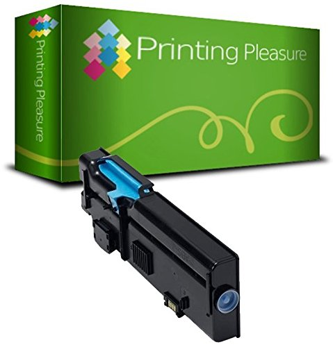 593-BBBN 593BBBT Cyan Compatible Toner Cartridge for use in Dell C2660, C2660DN, C2660DNF, C2660N, C2665, C2665DN, C2665DNF