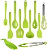 Kitchen Silicone Utensil Set - Cooking Utensils - 11 Pcs Kitchen Utensils set...
