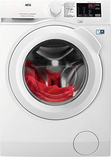 Aeg Voorlader Wasmachine, 9Kg, Wit