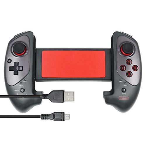 Mcbazel IPEGA PG-9083s Wireless 3.0 Ausziehbares Gamepad - Teleskop-Spiele-Controller-Joystick-Pad für 5-10 Zoll Android Smart Phones/ Tablets/ Windows PC (NICHT für iOS)