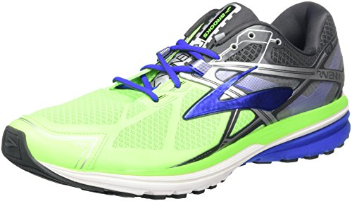 Brooks Men's Ravenna 7 Green Gecko/Electric Brooks Blue/Anthracite 10 D US