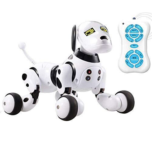 dewdropy Detector De Fugas De Agua 2.4g Control Remoto Inal/ámbrico Robot Inteligente Perro Juguetes Inteligentes para Ni/ños Perro Hablando Robot Electr/ónico Mascota Juguete Regalo De Cumplea/ños