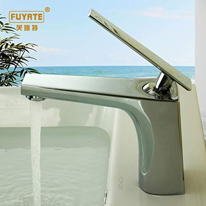 ROKTONG Bathroom Sink Taps Kitchen Sink Taps Black Copper Faucet Bathroom Bathroom Wash Basin Single Hole Paint Faucet???Family???Business Universal, A