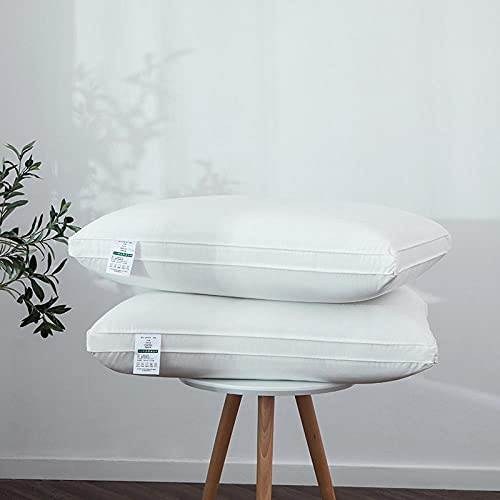 Almohada,Diseño ergonómico para un Mejor Soporte para Dormir en la Cabeza, el Cuello y los Hombros Almohada -Almohada_48 * 74cm