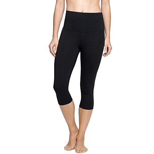 Price comparison product image Yummie Women's Talia Capri Cotton Stretch Shapewear Legging Black,  Medium