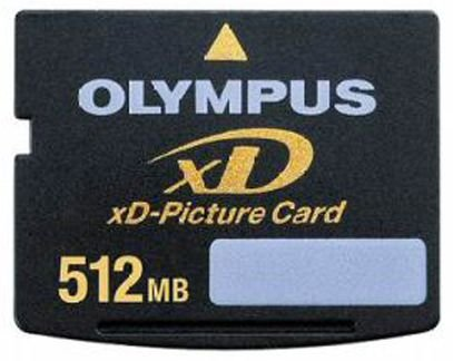 Olympus Highspeed M-xD 512MB Picture Card Speicherkarte