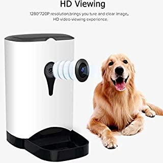 LHQ Mechanical Button Version pet Feeder Manual Timing quantitative Dog Food Bowl cat Feeder