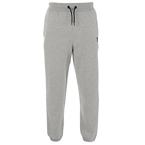 Everlast Mens Jogging Bottoms Fleece Trousers Pants Warm Drawstring Elasticated Grey Marl XX Large