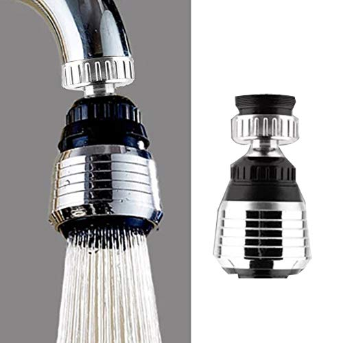 360 Rotate Swivel Water Saving Tap Aerator Diffuser Faucet Nozzle Filter Adapter