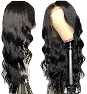 13x6 Deep Part 150% Density Lace Front Wigs Human Hair With Baby Hair Brazilian Body Wave Lace Wigs Pre-Plucked Hairline (20inch)