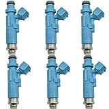 XIWEIG 6pcs / Set 540cc Inyector De Combustible 23250-74200 / Ajuste For - SXE10 / IS200 RS200, FIT FOR - CELICA / MR2 ST205 3SGE 3SGTE SW20
