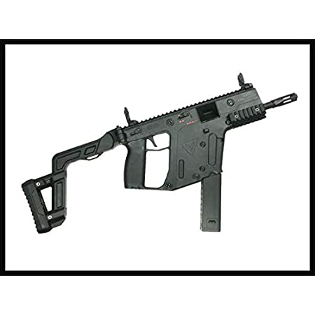 (クライタック)KRYTAC電動ガン本体 KRISS VECTOR GEN.2 BK(ブラック) (本体 + LIPOバッテリーセット)