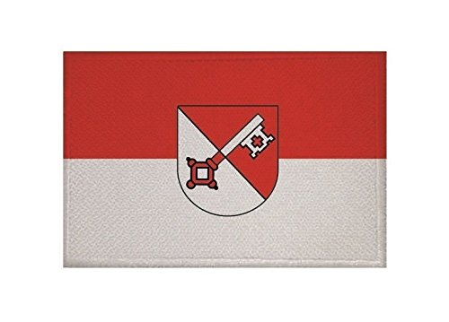 U24 Aufnäher Öhringen Fahne Flagge Aufbügler Patch 9 x 6 cm