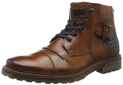 bugatti Herren 311382301100 Klassische Stiefel Kurzschaft Stiefel , Braun Cognac 6300 , 42 EU