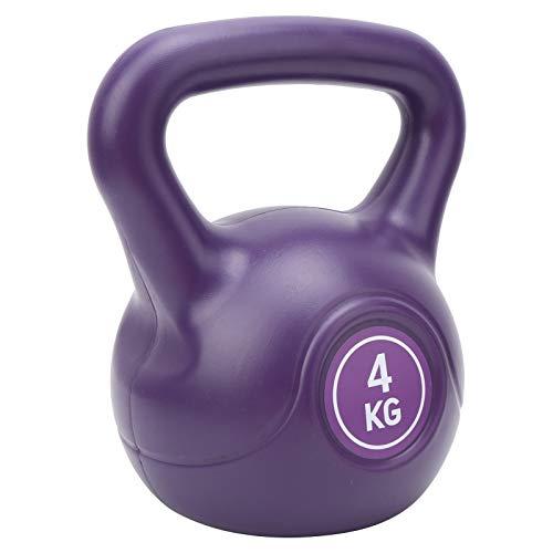 KUIDAMOS Kettle Bell Weight Mango Grande Cómodo Durable Kettlebell, para la construcción de músculos(Purple)